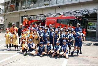 東京消防庁<足立消防署><消防少年団>
