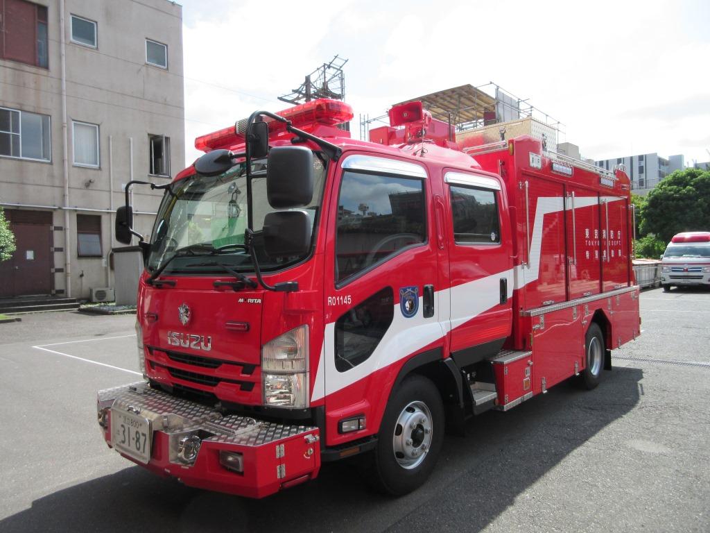 東京消防庁<深川消防署><災害時支援ボランティア>