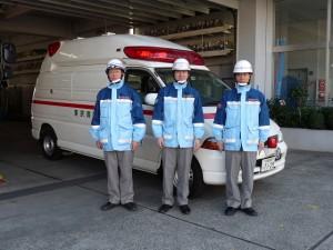 東京消防庁<狛江消防署><PA連...