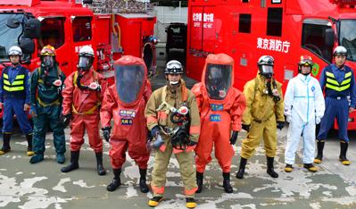 東京消防庁<大井消防署><トップページ><消防部隊の紹介>