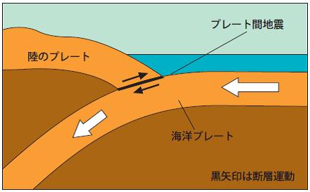 プレート 地震